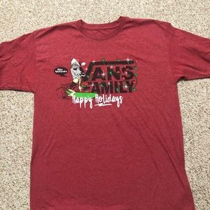 Exclusive vans holiday shirt